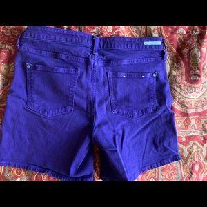 Anthropologie Shorts - Anthropologie Pilcro Jean Shorts Dark Purple 29 8